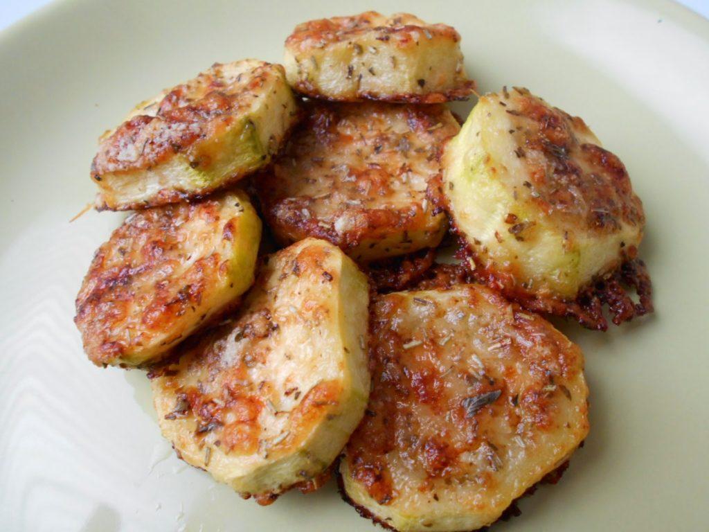 Calabacines con Parmesano