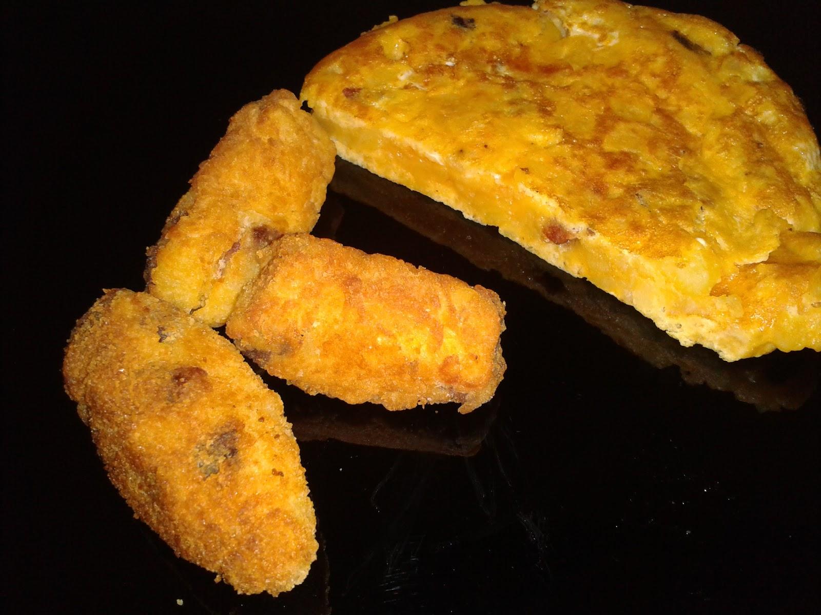 Croquetas de Tortilla de Patatas.