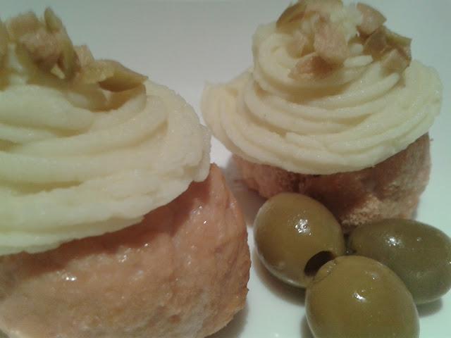 Cupcakes de Pollo y Puré.