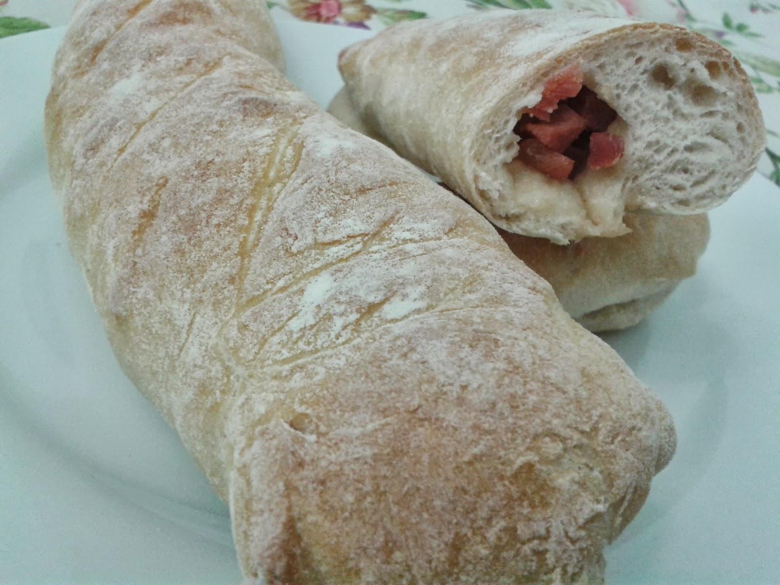 Pan Relleno de Jamón.