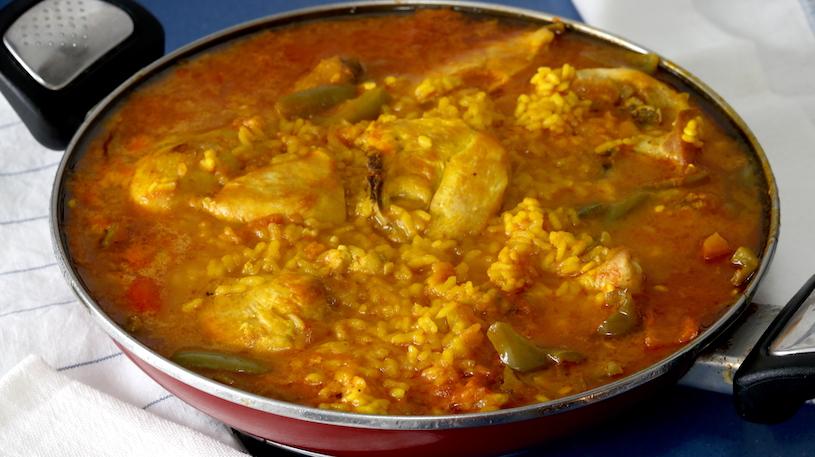 Arroz caldoso con Pollo 1