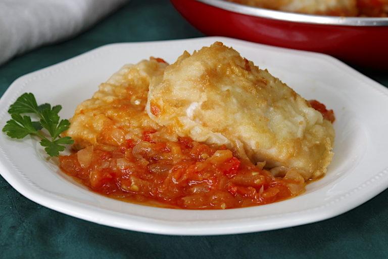 Bacalao Con Tomate Cocina A Buenas Horas