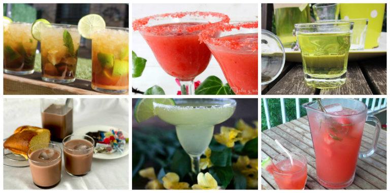 Bebidas refrescantes caseras
