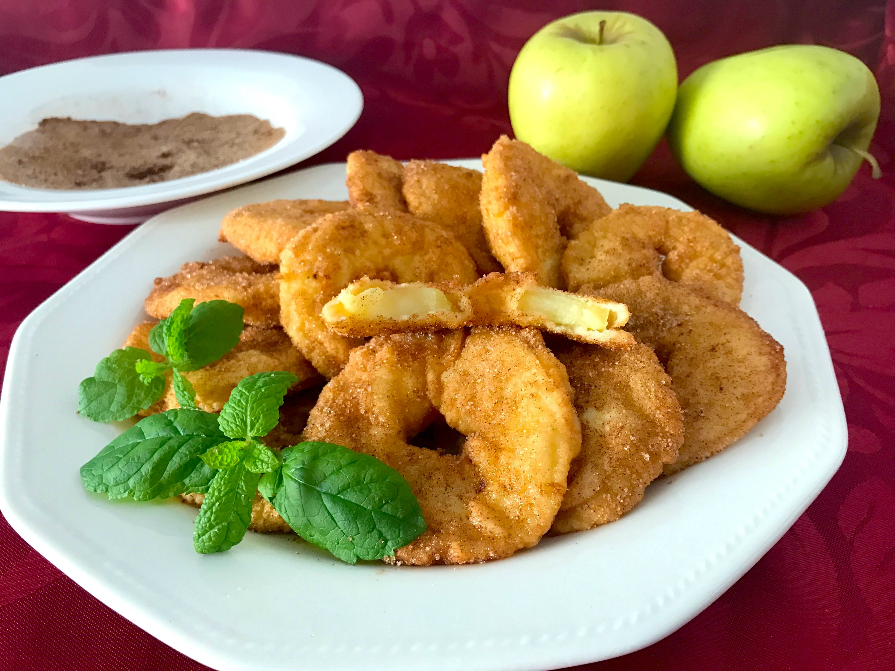 postres de semana santa buñuelos de manzana