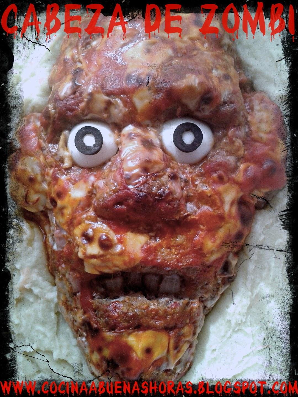 Cabeza de Zombi para Halloween
