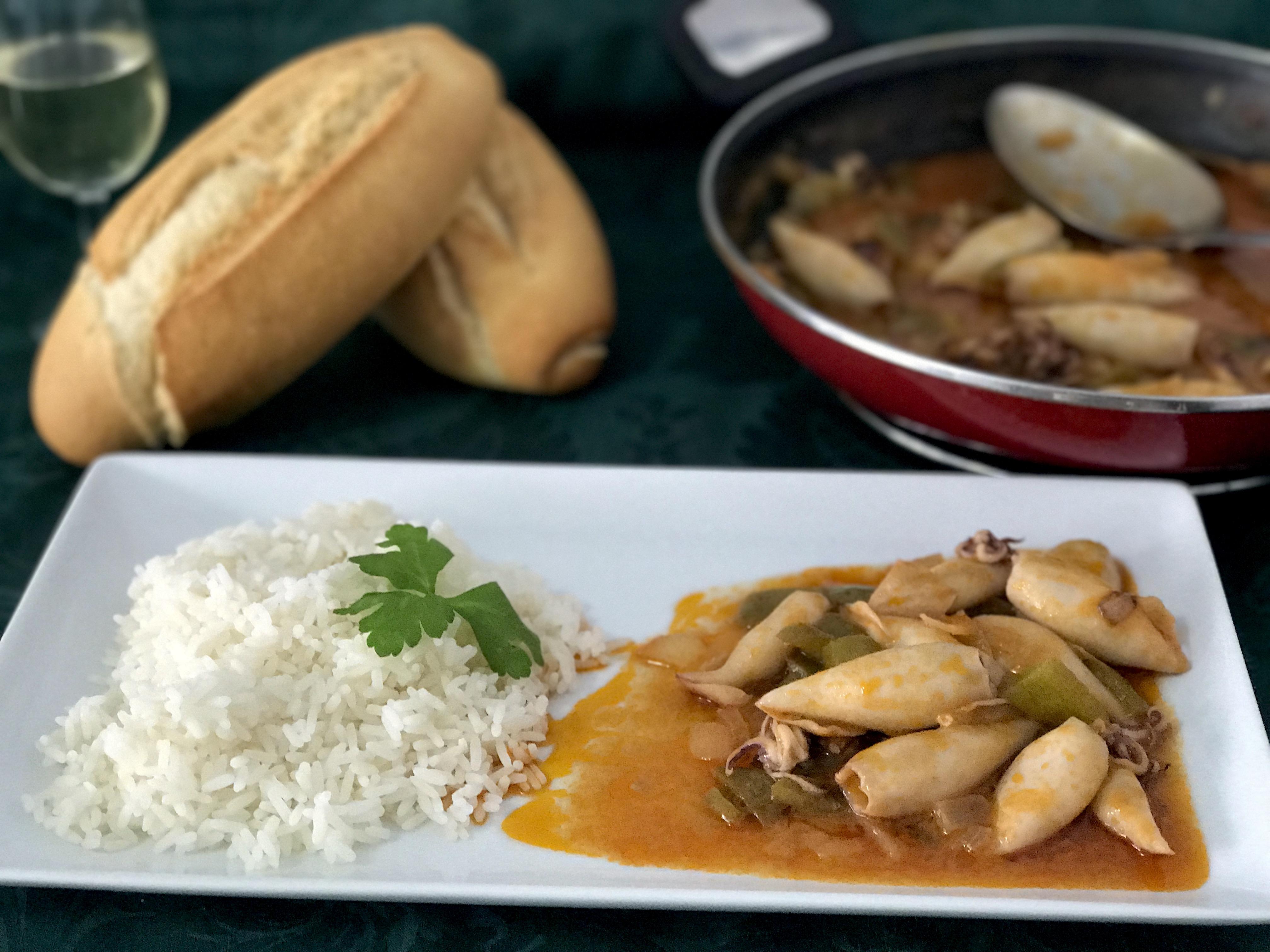 Hermoso como cocinar chipirones im genes unidas por la for Como cocinar jabali arguinano