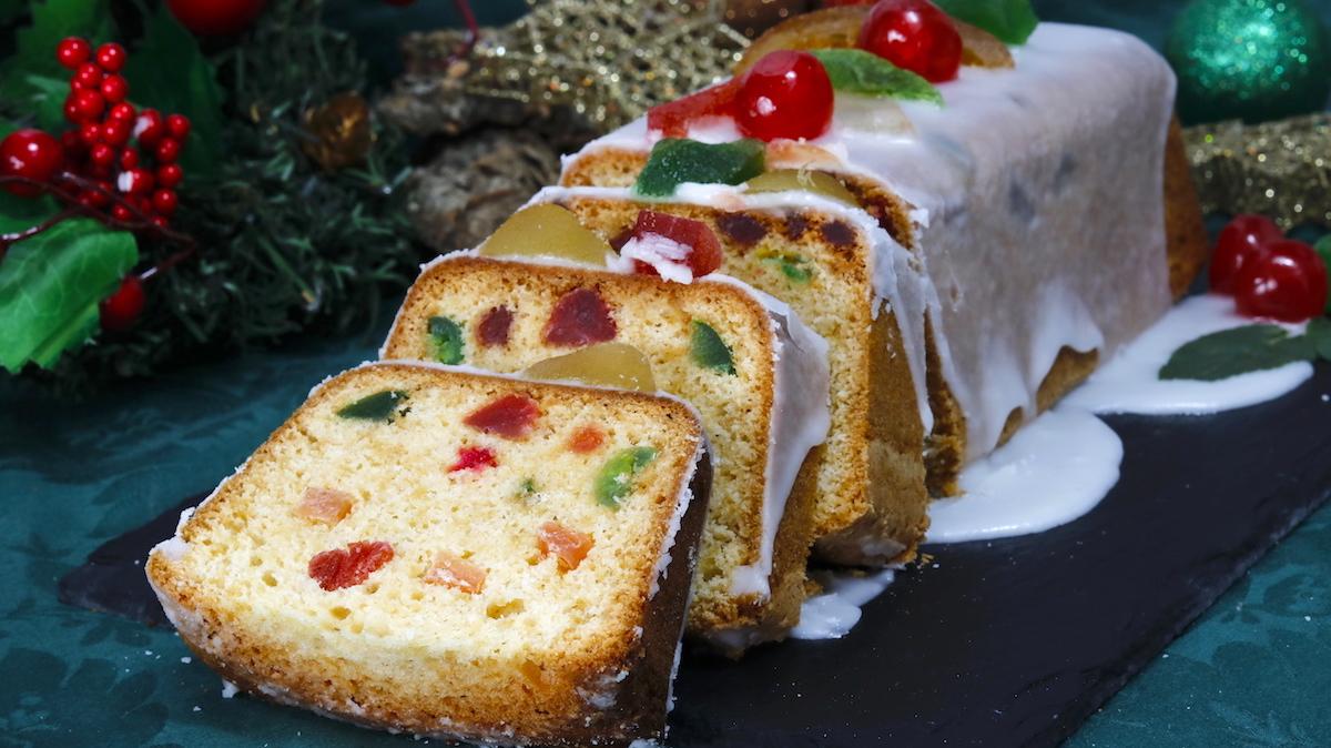como hacer bizcocho de navidad