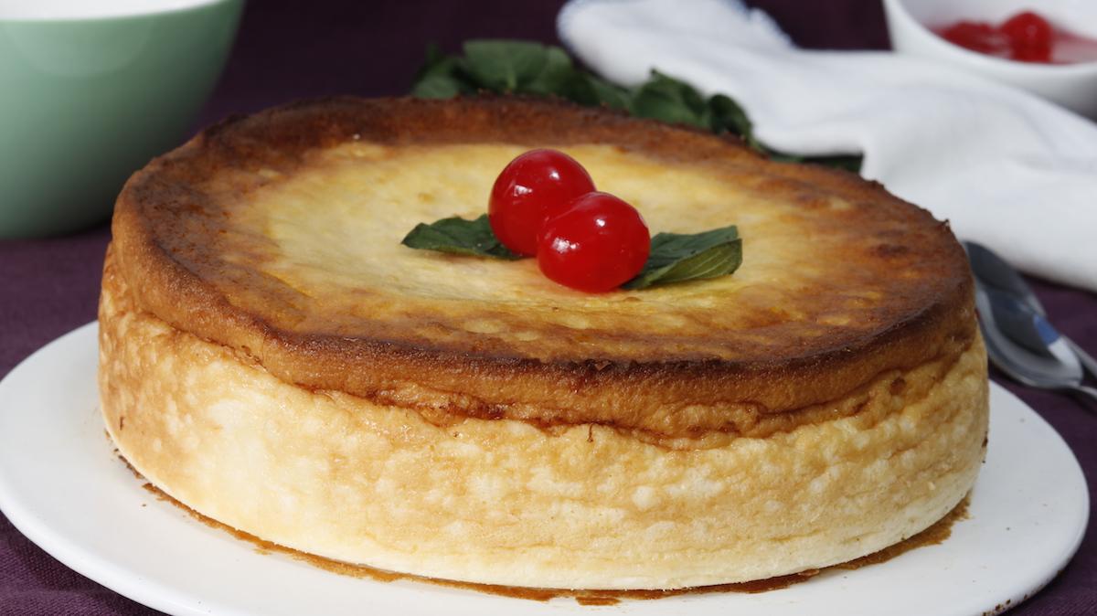 como hacer tarta de queso al horno