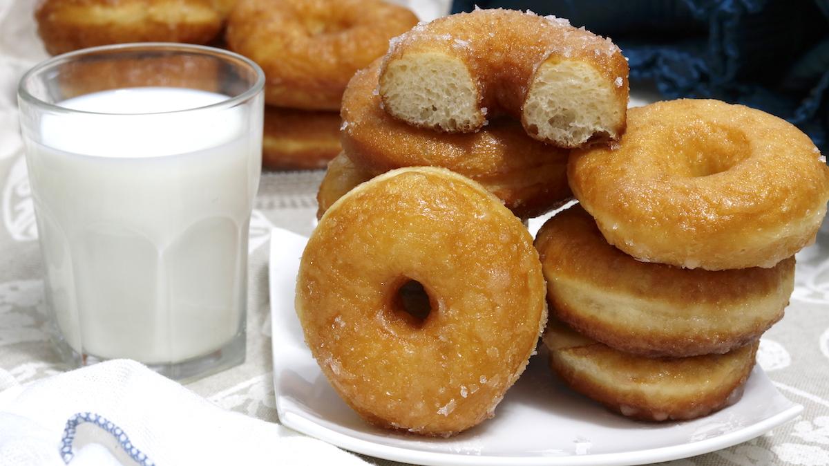 Donuts Caseros Tiernos y Esponjosos