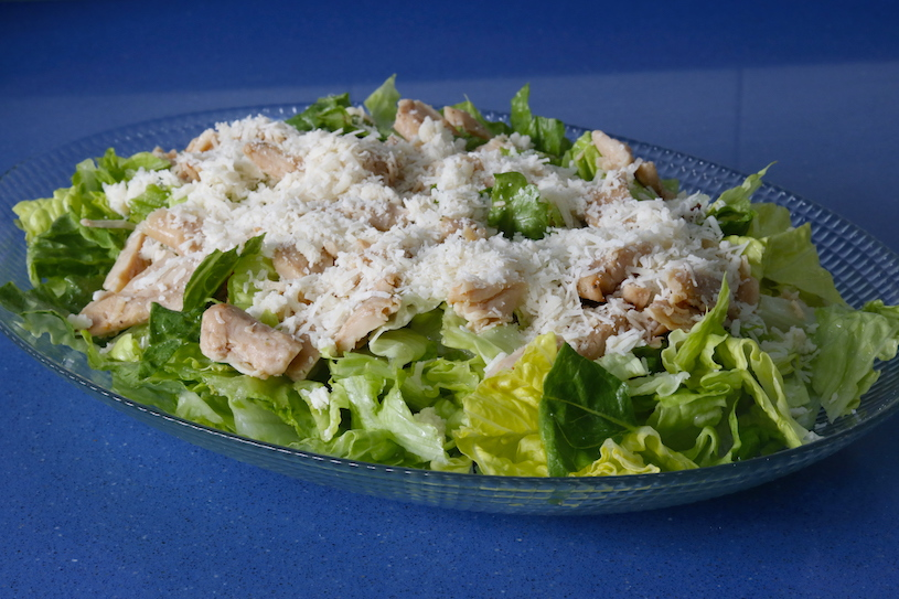 ensalada cesar parmesano