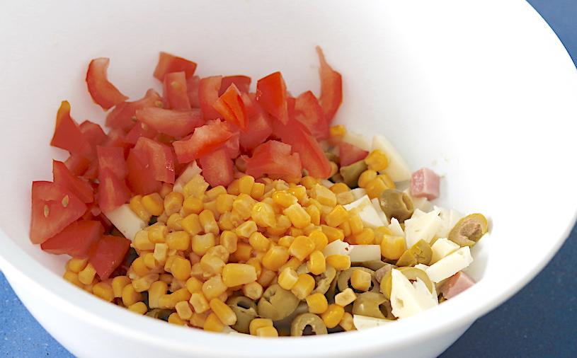 ensalada de cuscus ingredientes