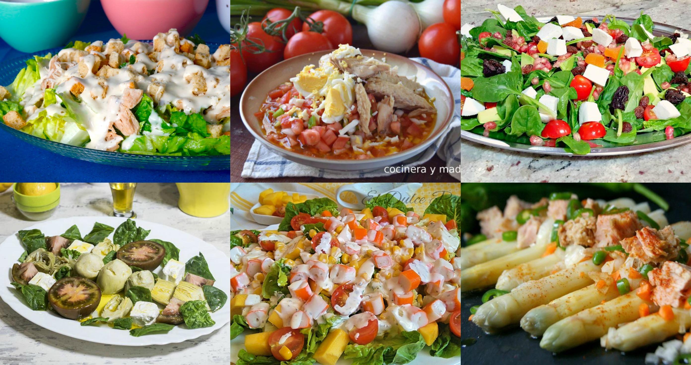 Recetas de Ensaladas Fáciles y Deliciosas