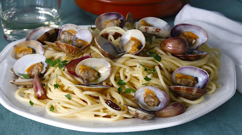 espaguetis con almejas 3