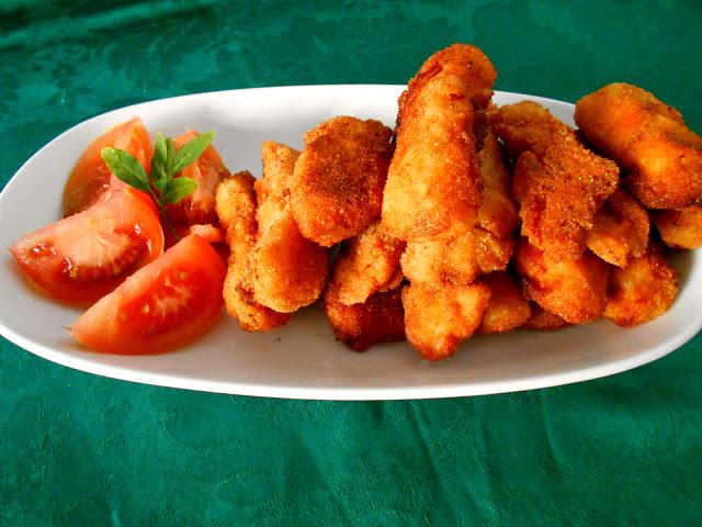 Fingers de Pollo en Salsa Barbacoa
