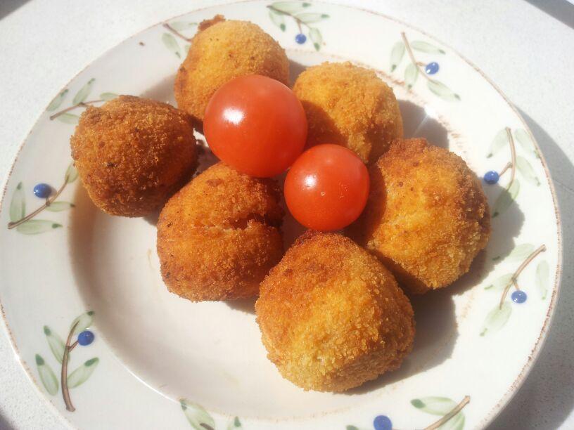Tomates Cherry Empanados.