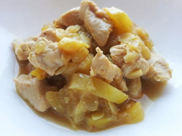 Pollo con Calabacines