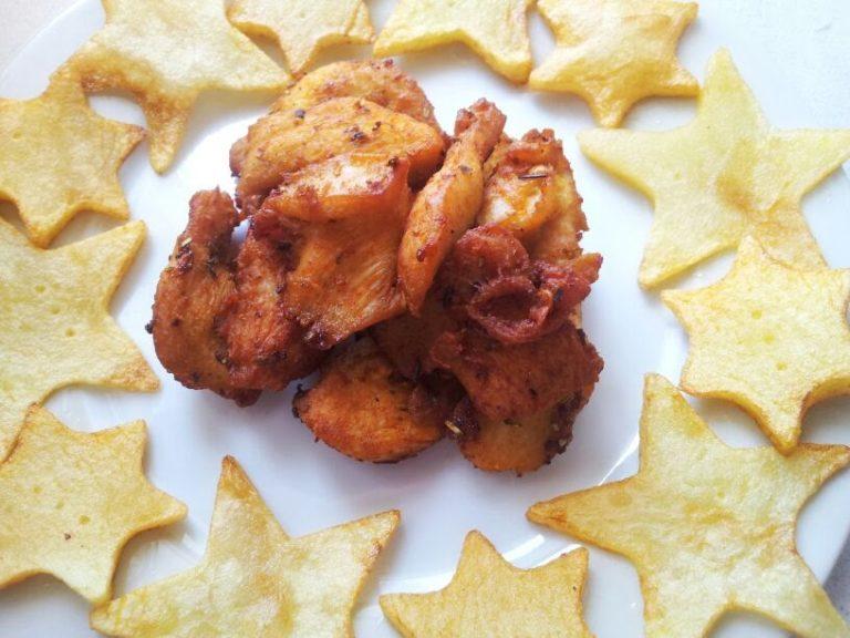 Pollo Especiado Frito