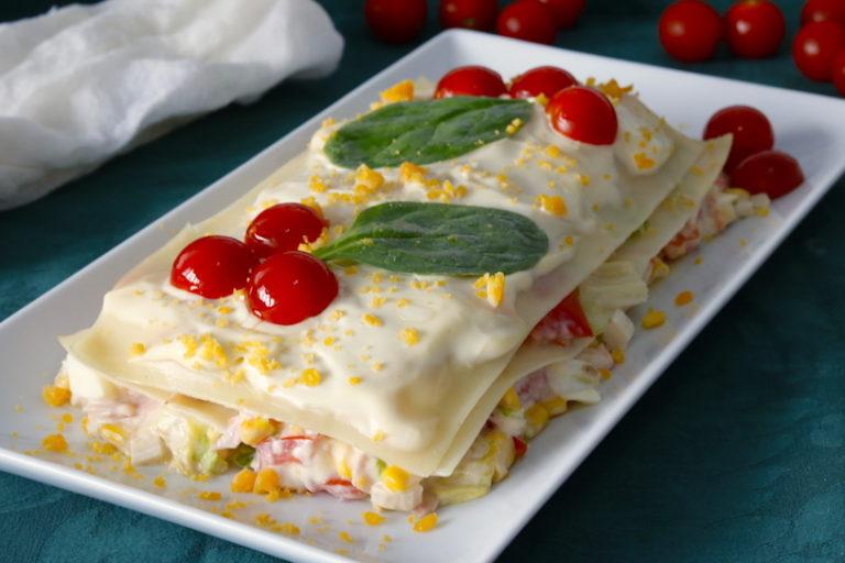 Lasaña De Verano Receta Fácil Cocina A Buenas Horas