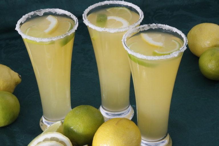 Limonada o agua de limon ¡Súper refrescante!