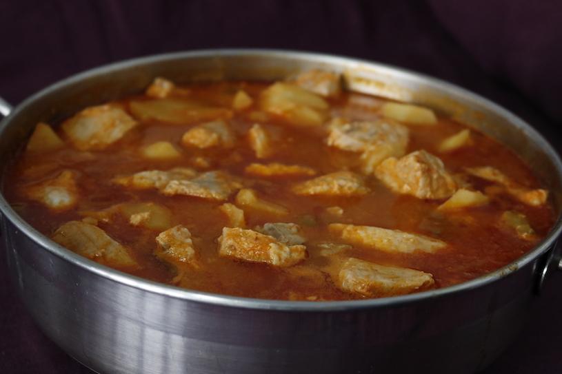 marmitako de atun tradicional