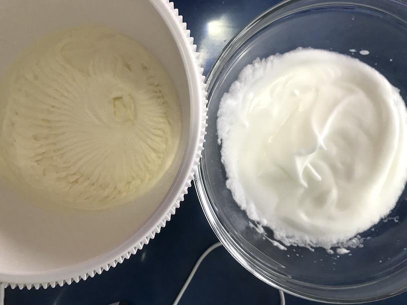 mousse de yogur griego