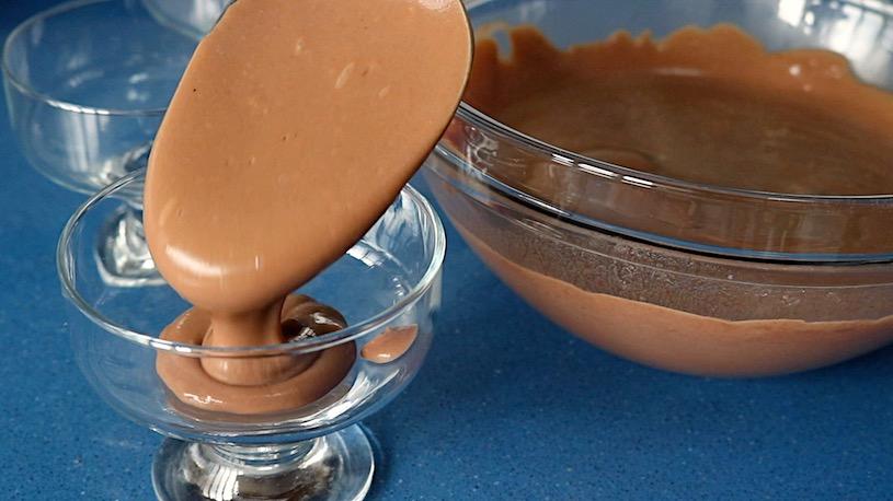 natillas de chocolate enmicroondas paso 3