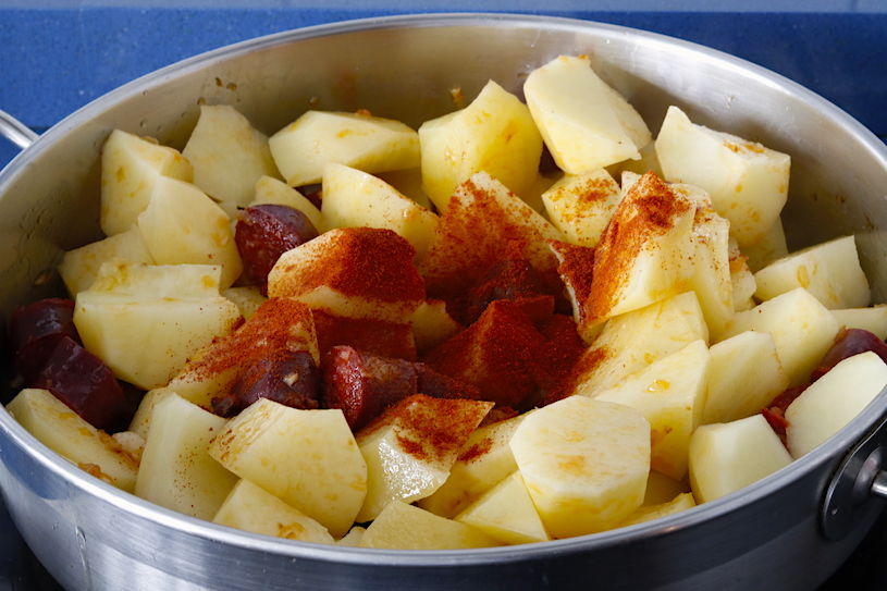 patatas a la riojana patatas