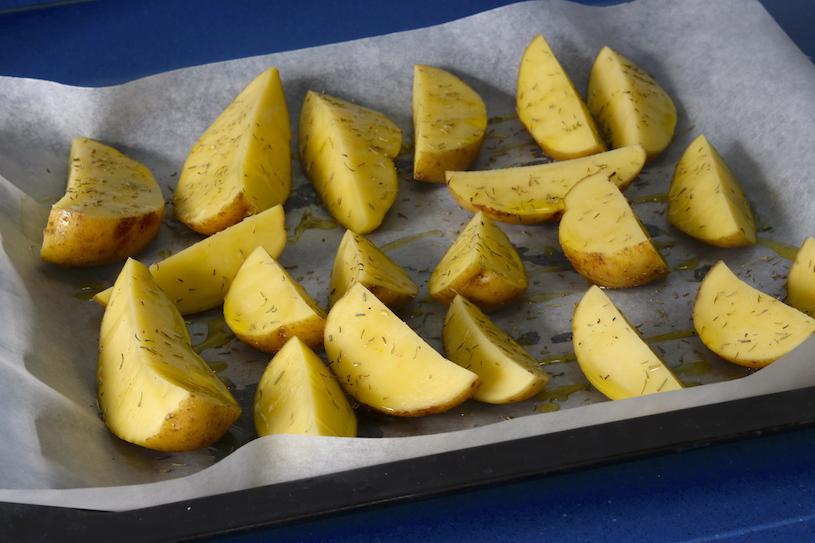 patatas al horno patatas asadas con especias