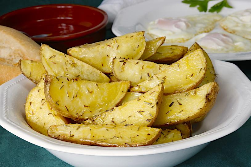 Patatas al Horno o Patatas Asadas con Especias