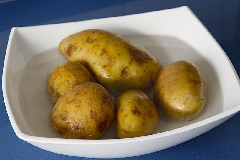 patatas al horno patatas asadas