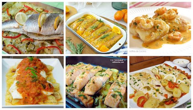 Pescados Recetas Sencillas Cocina A Buenas Horas