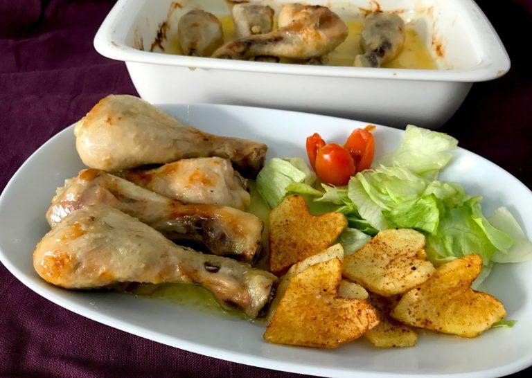 Pollo A La Mantequilla Muy Facil Cocina A Buenas Horas - Recetas-de-cocina-con-pollo