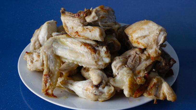 Pollo en Pepitoria Pollo