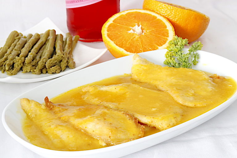 Pollo en Salsa de Naranja