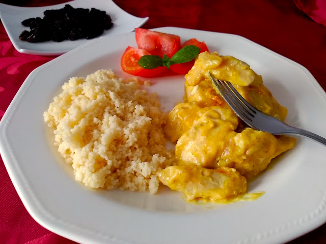 Cuscus de Pollo al Curry.