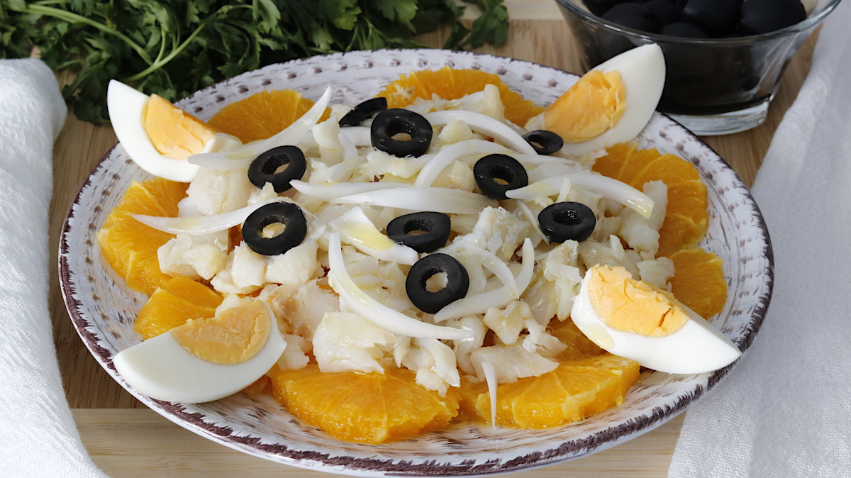 remojon ensalada de bacalao y naranja