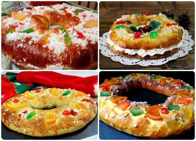 Roscones de Reyes para elegir