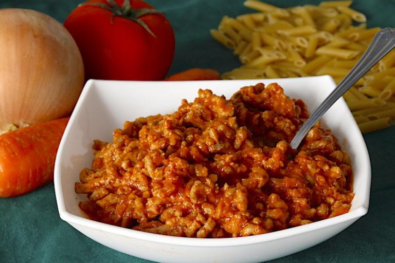 Salsa Boloñesa Casera