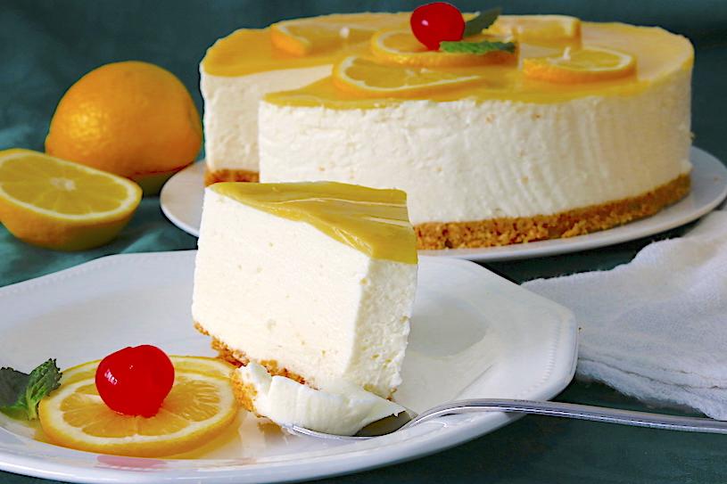 tarta de limon y nata 1