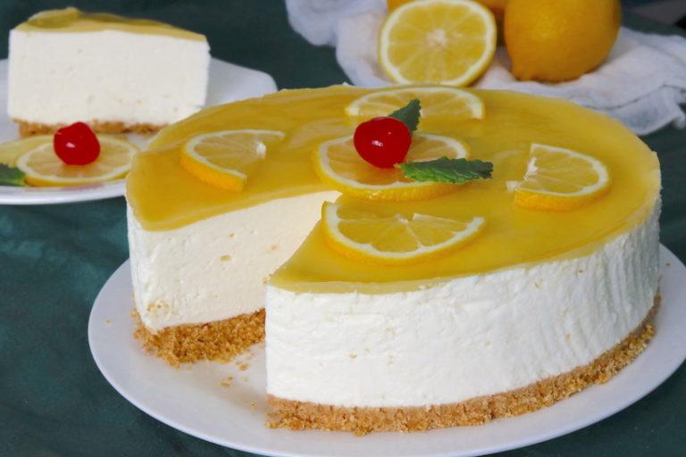 Tarta De Limón Y Nata