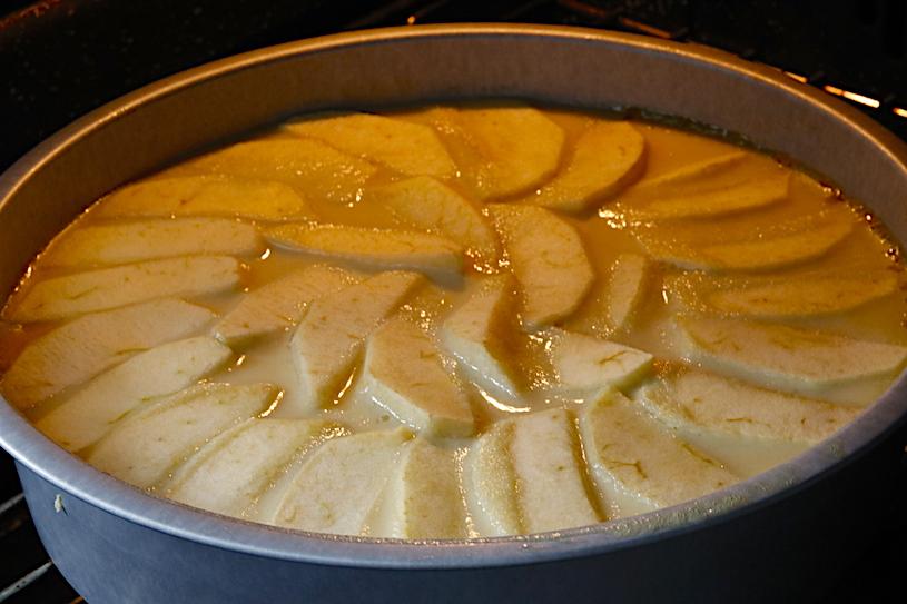 tarta de manzana horno