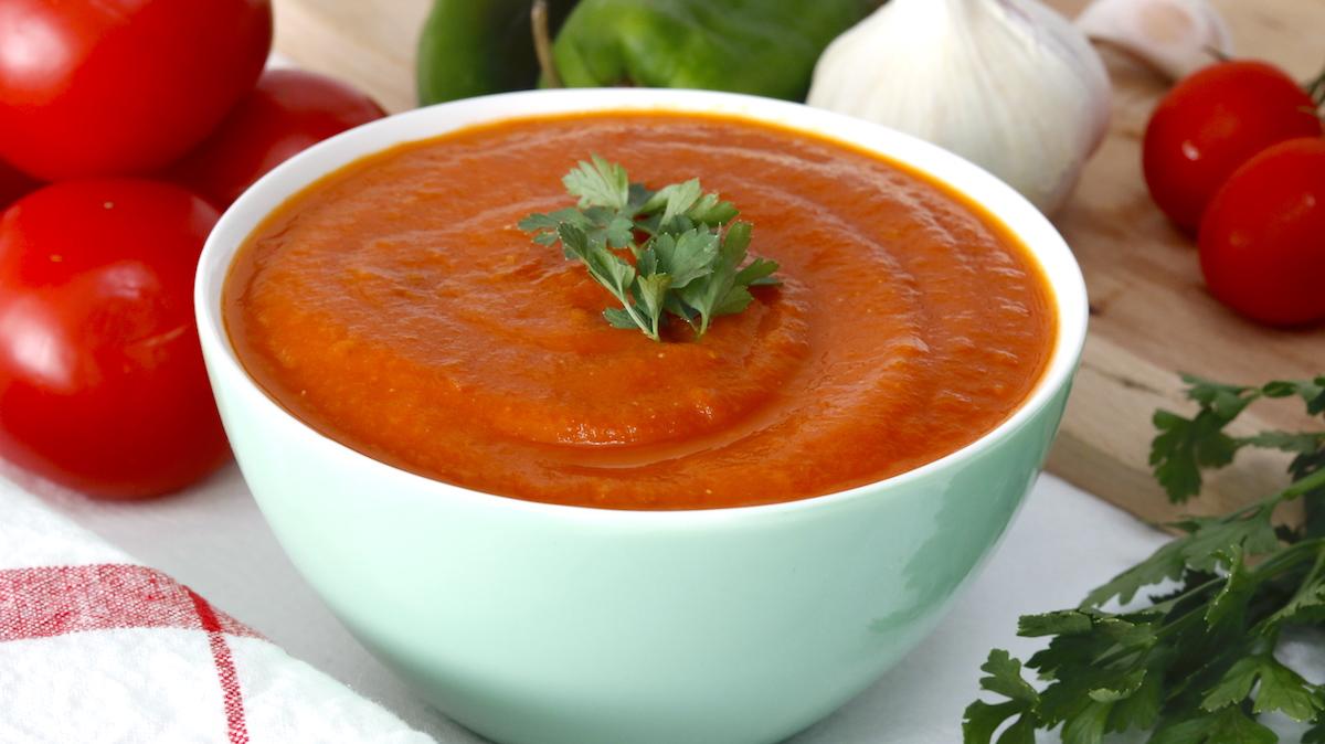 tomate frito salsa de tomate